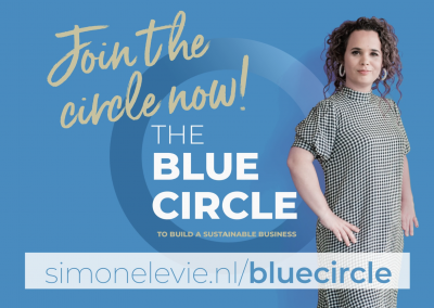 Promovideo Blue Circle